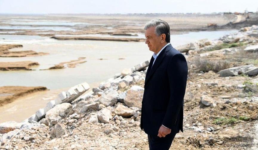 узбекистан язовир