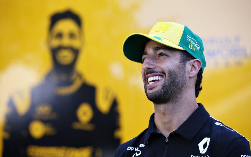 Даниел Рикардо: Първият старт от Формула 1 ще бъде хаос