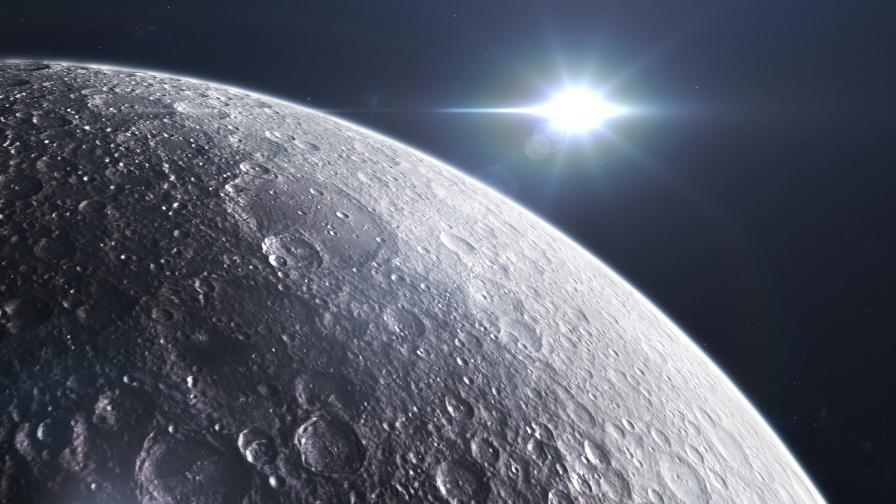 НАСА иска постоянна база на южния полюс на Луната