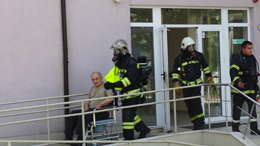 <p>Как е избухнал пожарът в Дома за стари хора в Благоевград</p>