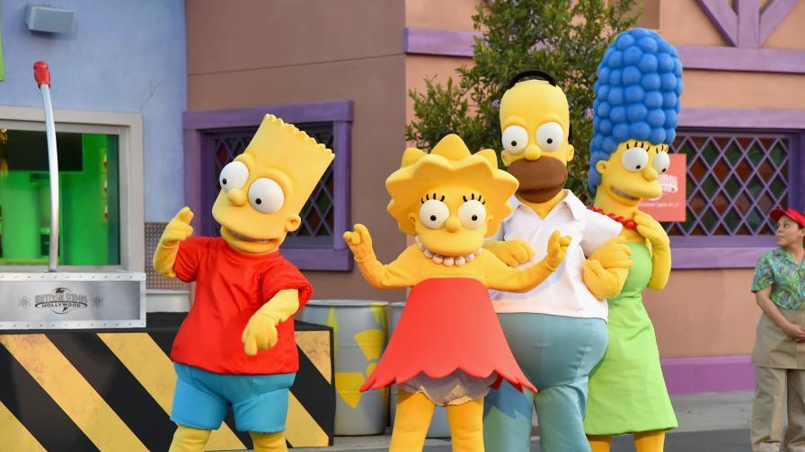 """""""Семейство Симпсън"""" -  Знаете ли на колко години е Хоумър"""