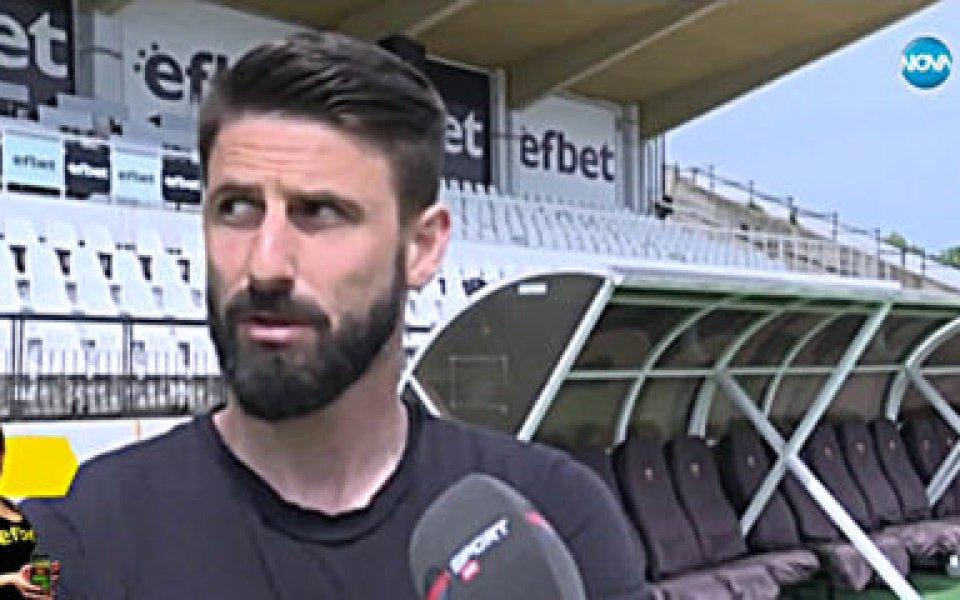 Футболист №1 на България за 2019 година Димитър Илиев сподели