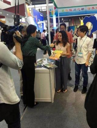 Представяне на книгата пред китайски медии
