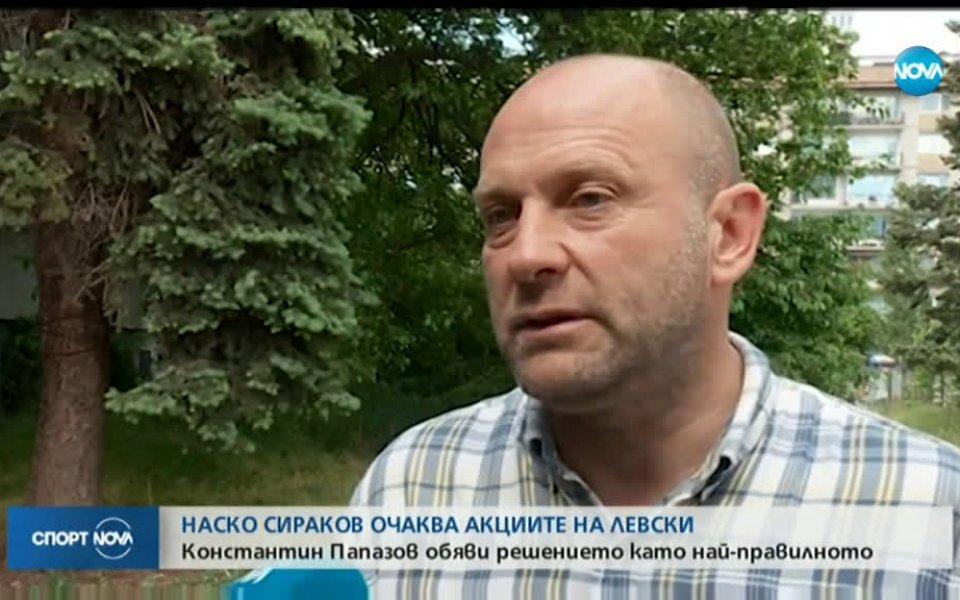 Баскетболният треньор Константин Папазов, който също бе кандидат за ценните