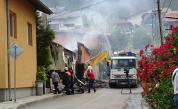 Три къщи горяха в Бобошево, жена пострада леко