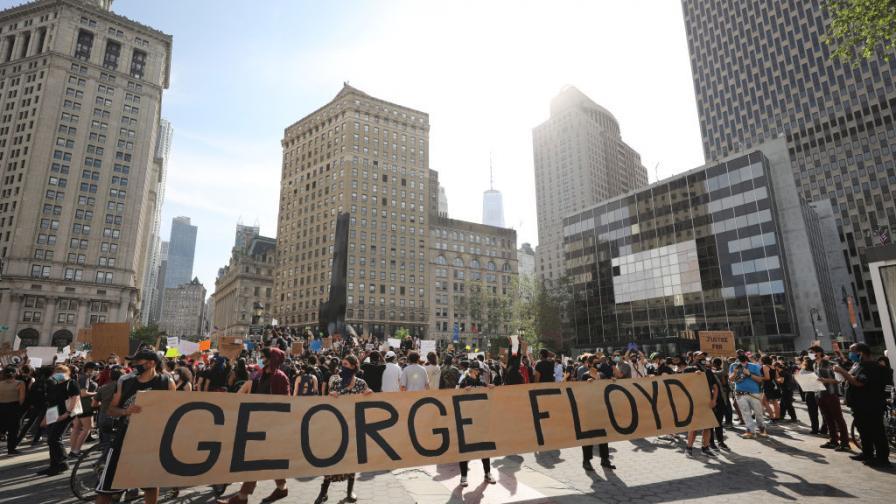 Протест в Манхатън