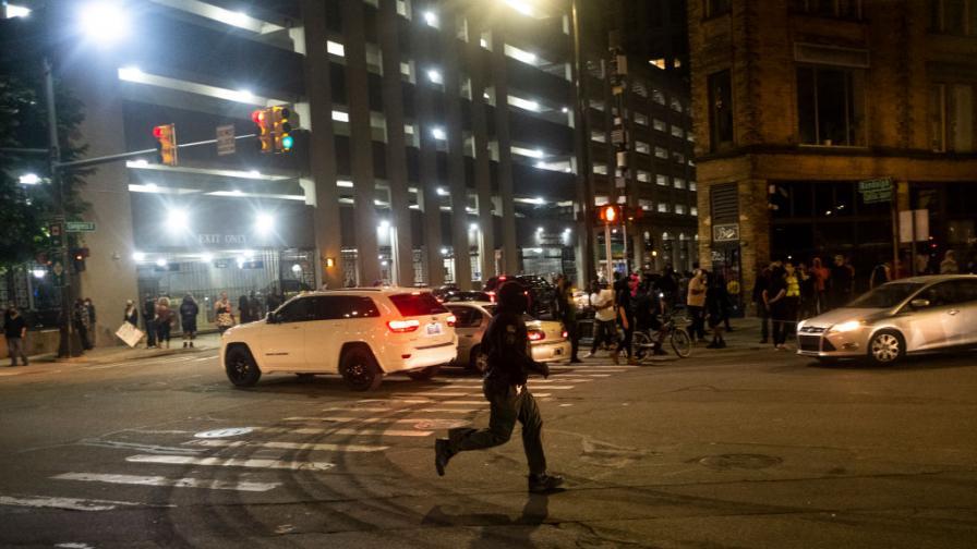 Протести в Детройт