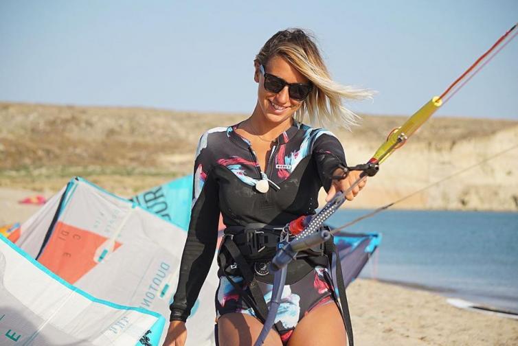 Елизабет кайт сърф веган