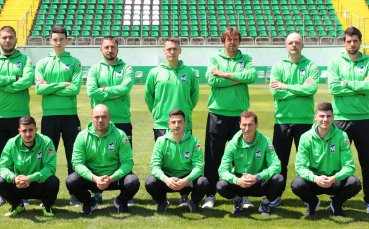 Пирин представи цял нов треньорски екип