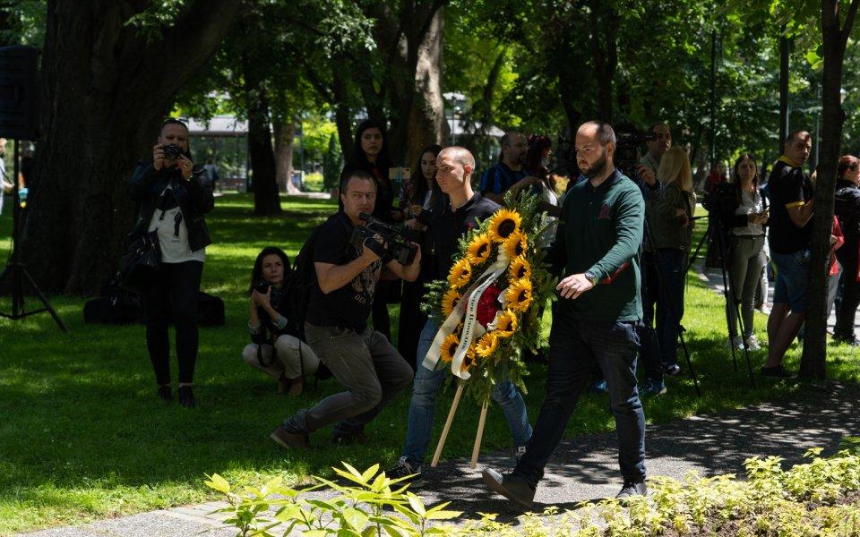 Ботев Пловдив почете 144-ата годишнина от героичната смърт на своя