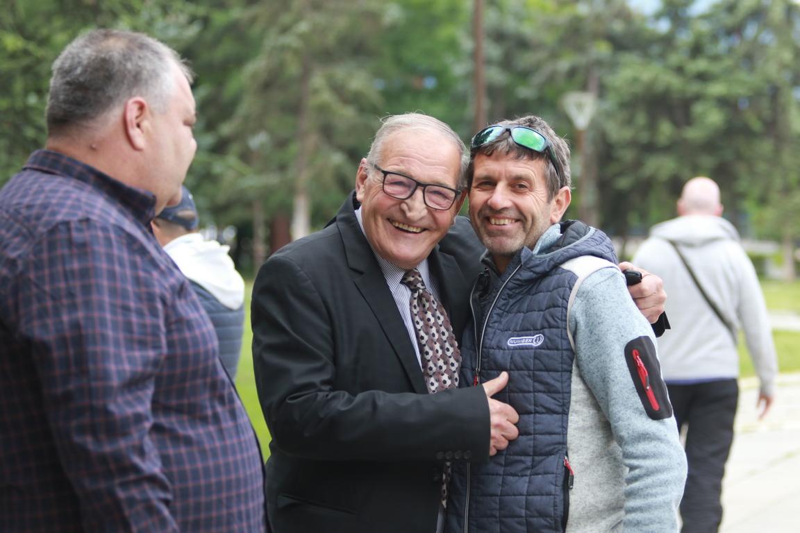 <p>&quot;Поздравявам автора Иван Йочев за прекрасните фотоси, те са част от историята на нашите велики шампиони, част от българската спортна история.</p>