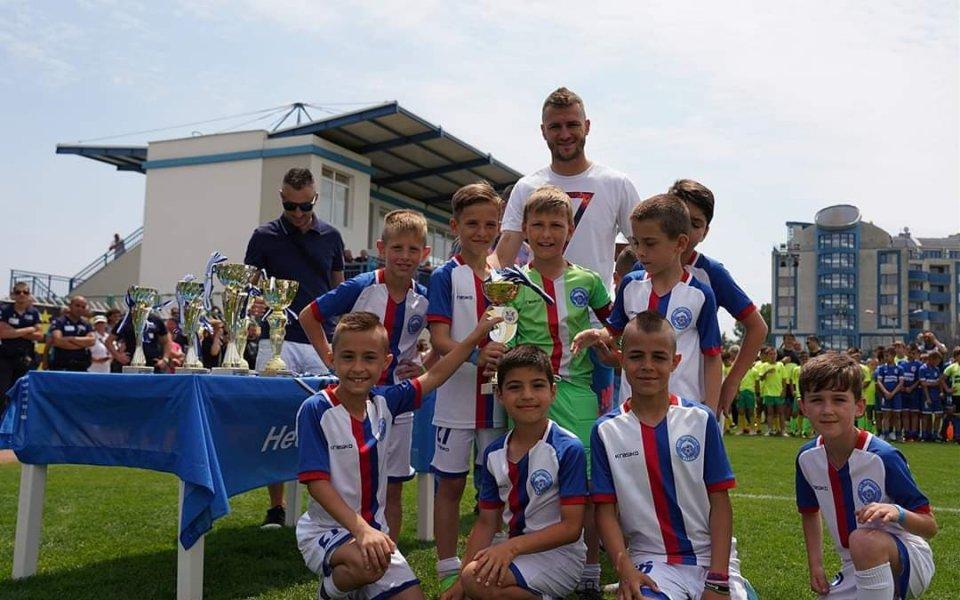 """За пета поредна година футболен клуб """"Атлетик 2014"""" гр. Несебър,"""