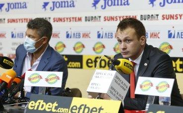 Добрин Гьонов: Целта ни е да създадем европейски клуб, който да радва феновете