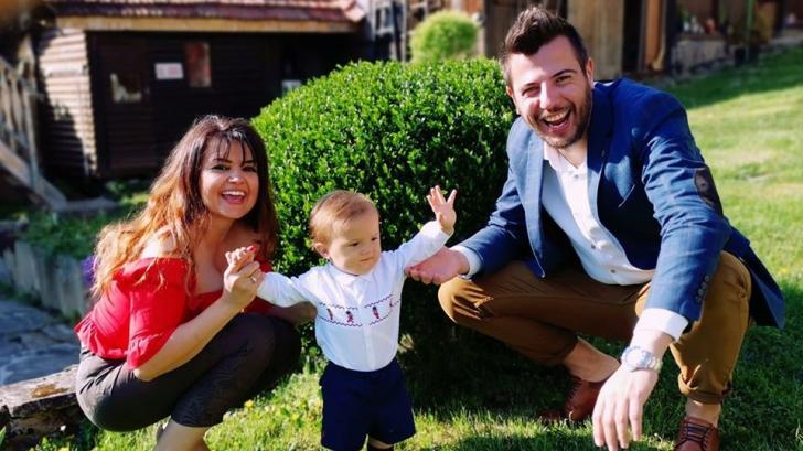 Семейна идилия: бременната Петя Дикова и Илиян Любомиров с нова снимка