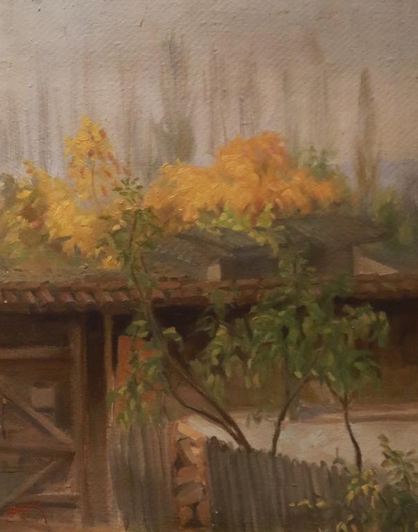 <p>Двор напролет</p>  <p>Никола Костов Андонов в колекцията на Красимир Дачев</p>