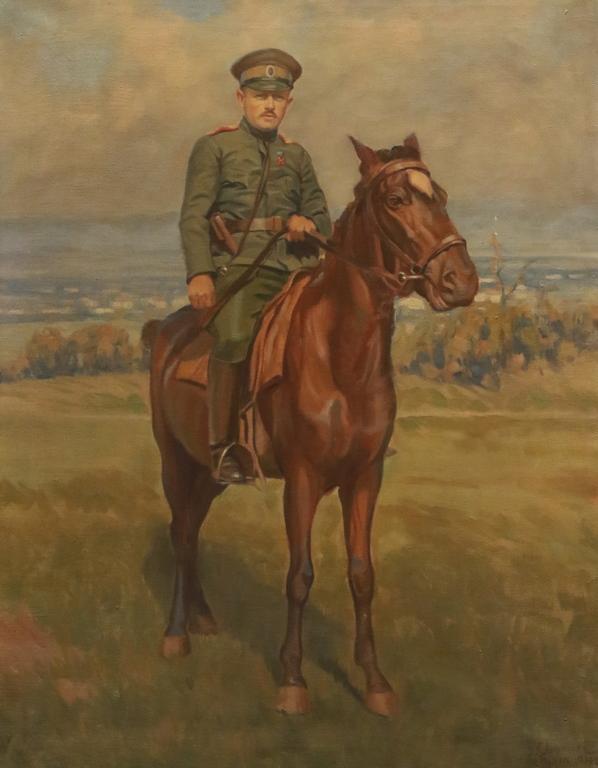 <p>Командирът от Кавалерията (Автопортрет), Тулча</p>
