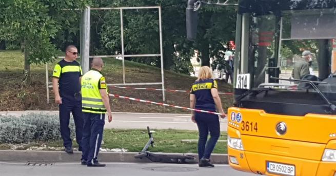 България Остава тежко състоянието на удареното от автобус дете в