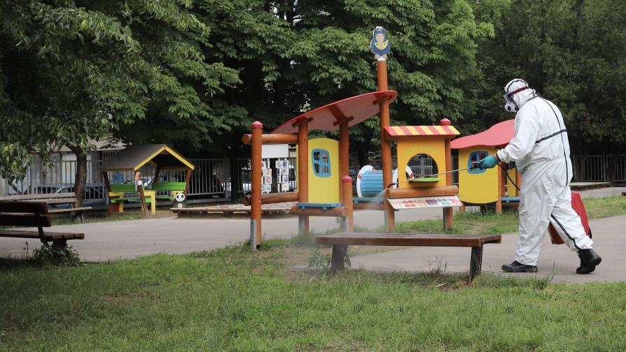 Отрицателни проби на децата от ясла в София