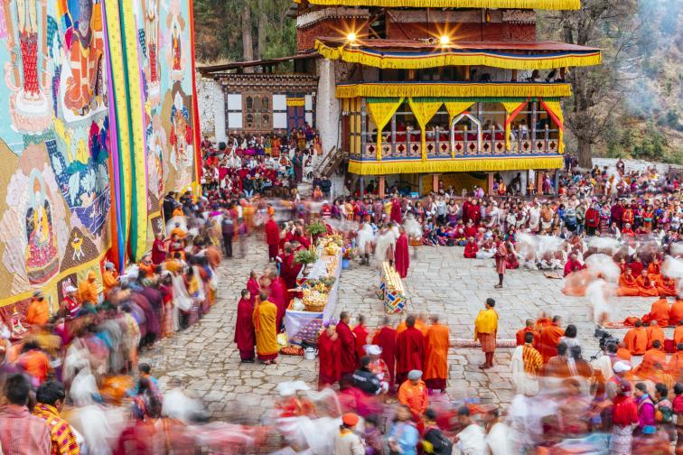бутан хималаи