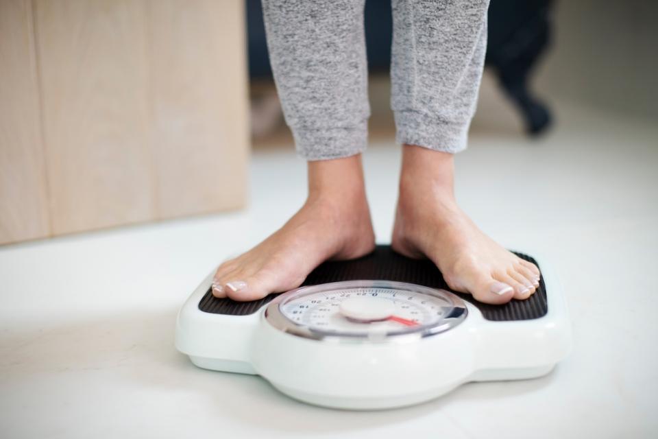 тяло отслабване килограми