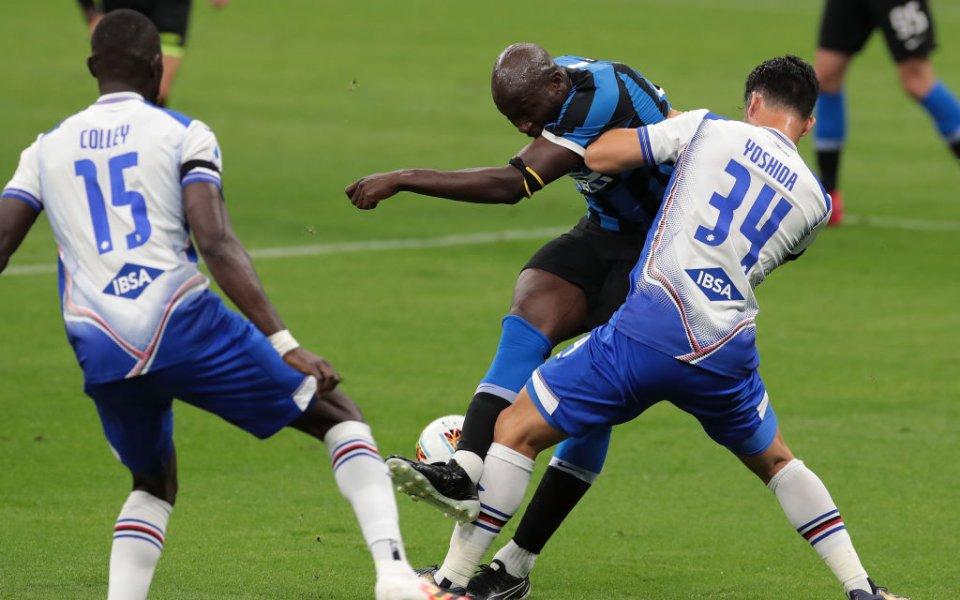 Интер победи у дома Сампдория с 2:1 в двубой от
