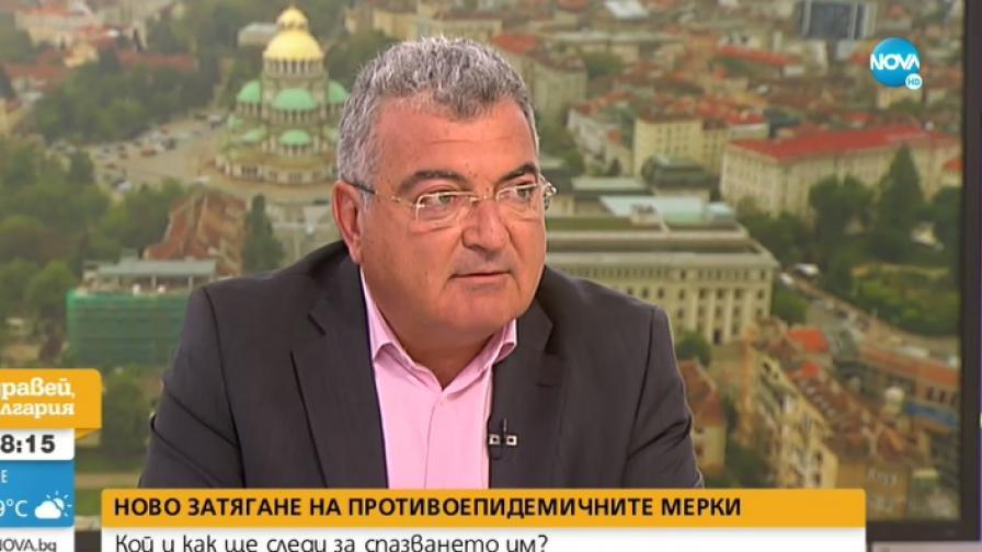 Директорът на РЗИ-София д-р Данчо Пенчев директорът на РЗИ д-р Данчо Пенчев