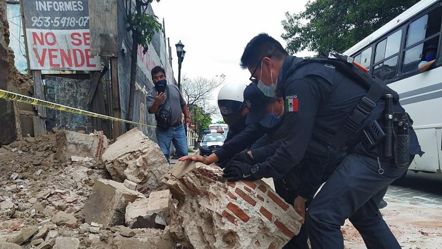 Земетресението от 7,4 и цунами в Мексико, има жертви