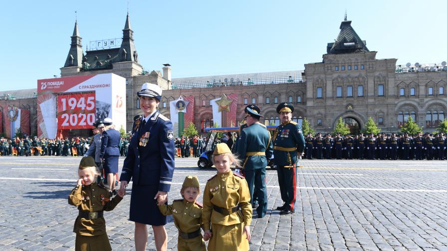 Парад на победата в Русия, 75 години след Великата отечествена война