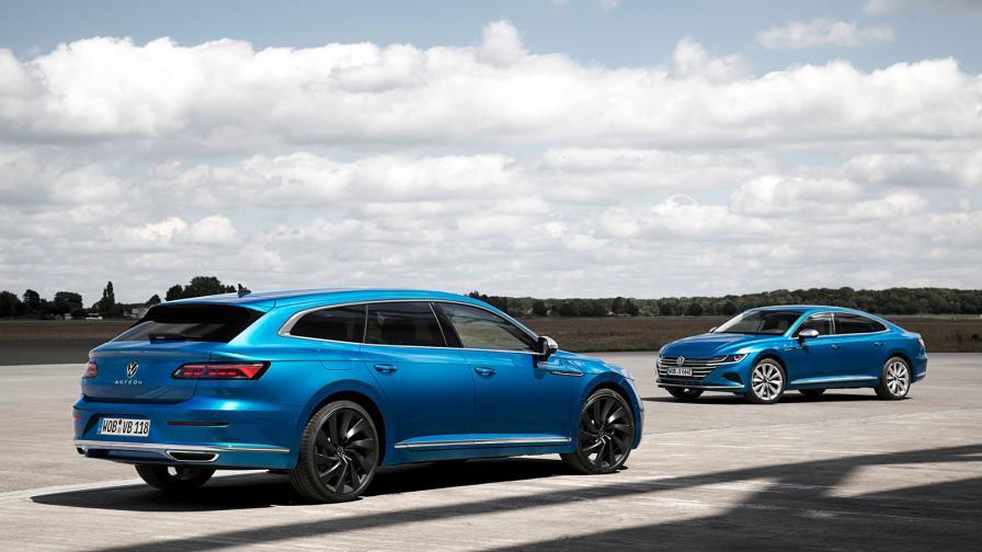 <p>Shooting Brake, плъг-ин и R-ка за обновения VW Arteon</p>