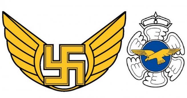 Свят ВВС на Финландия премахнаха свастика от емблемата си ВВС