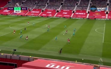 Юнайтед набързо изравни на Борнемут