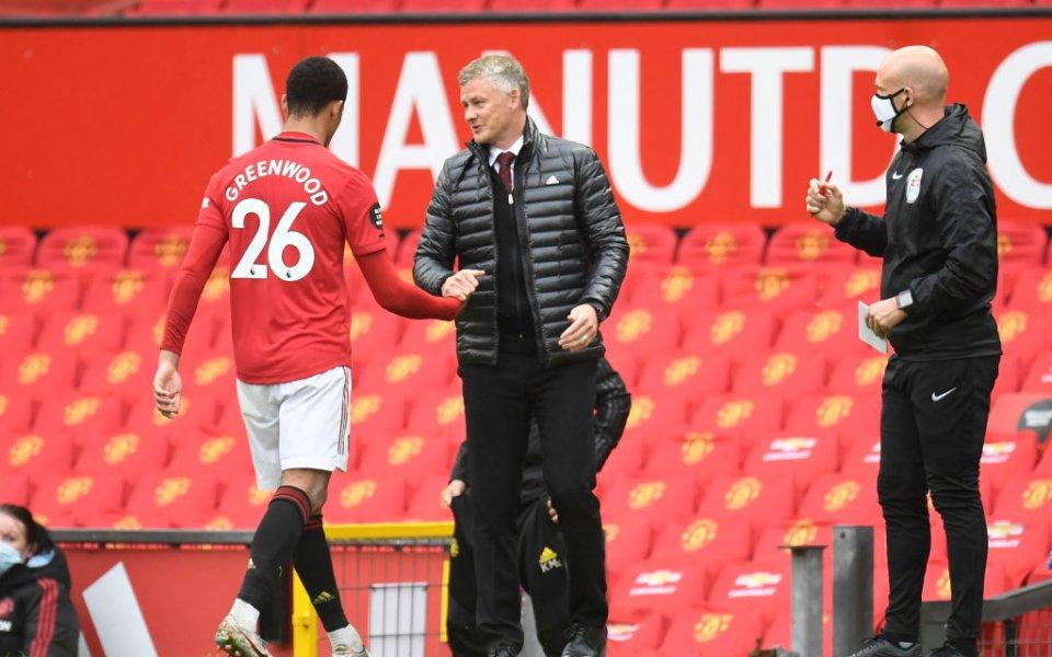 Мениджърът на Манчестър Юнайтед - Оле Гунар Солскяер, коментира равенството