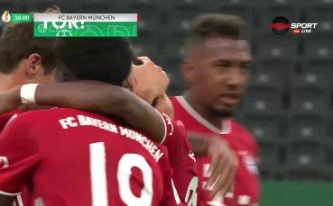 Байерн М - Байер Л, финал Купа на Германия /първо полувреме/