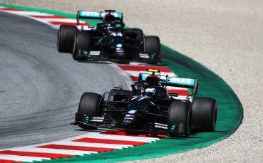 Ботас триумфира в лудото Гран При на Австрия