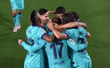 Барса превключи на четвърта предавка срещу Виляреал и се върна на победния път
