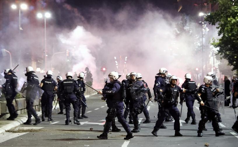 сърбия протест