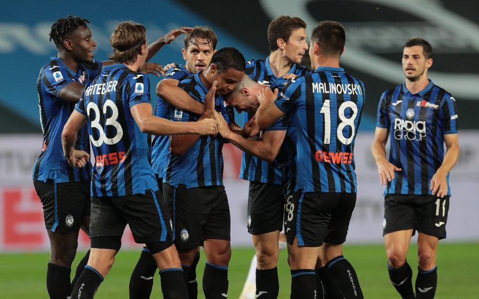 Аталанта записа победа с 2:0 на своя стадион срещу Сампдорияв