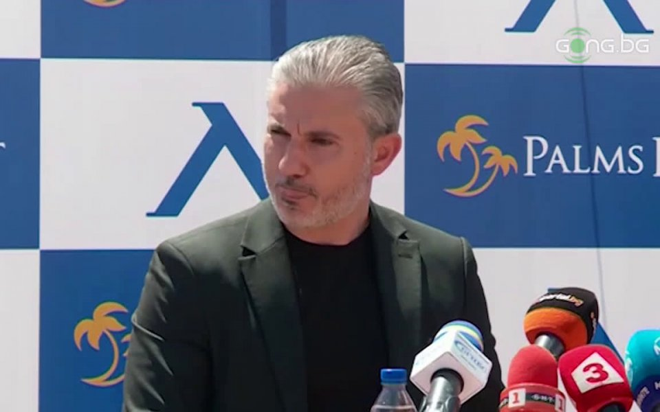Изпълнителният директор на Левски Павел Колев представи официално новия спонсор
