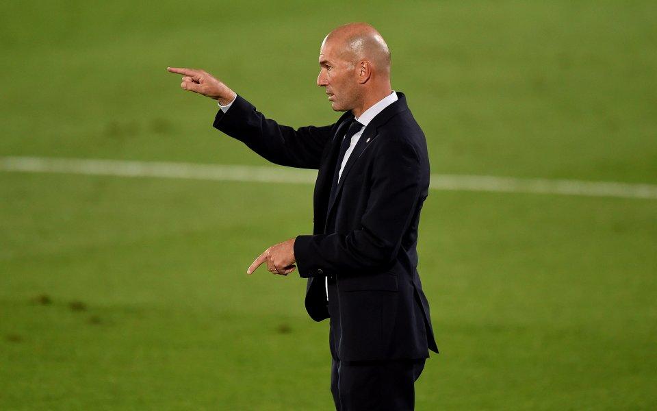 Наставникът на Реал Мадрид Зинедин Зидан похвали играта на вратаря