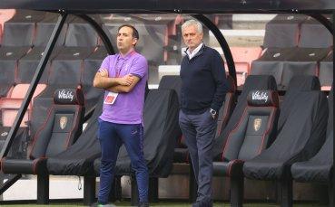 Моуриньо отхвърли значението на дербито с Арсенал