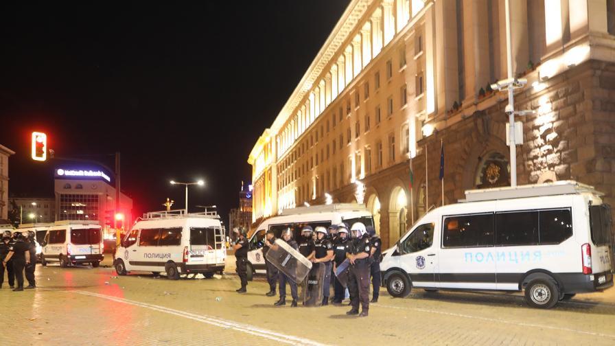 <p>МВР: Протестиращите сами ни посочваха провокатори</p>