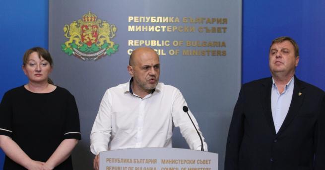 България Дончев: Президентът поиска цялата власт Вицепремиерът Томислав Дончев, Деница