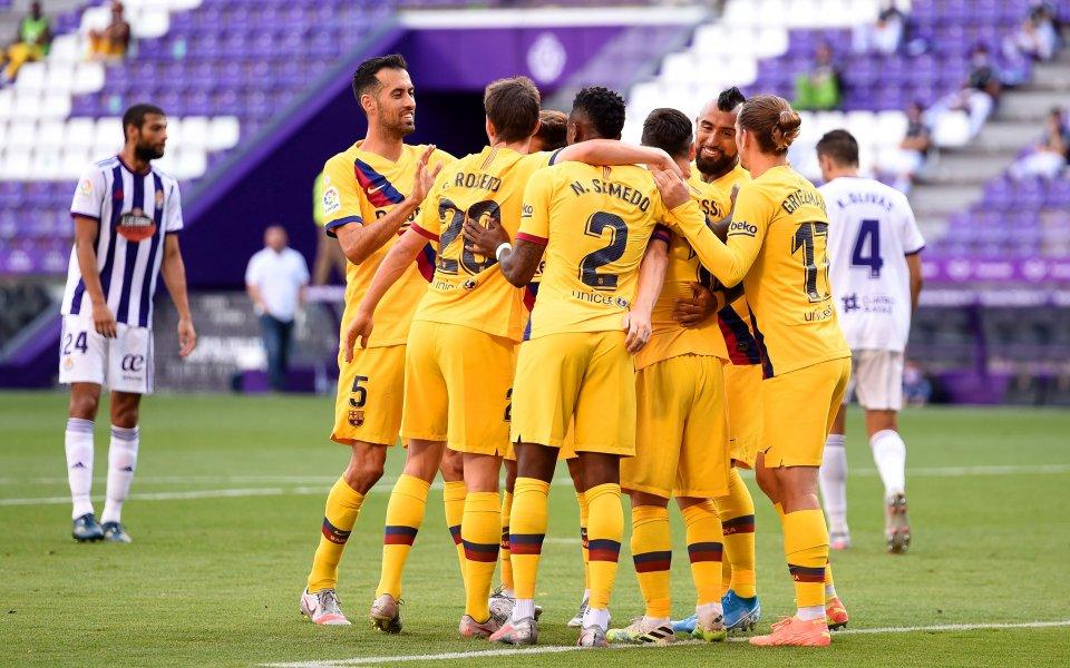 За много от феновете на Барселона представянето на новите екипи