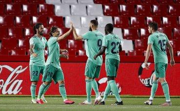 Реал Мадрид потрепери, но титлата в Ла Лига се държи с една ръка (галерия)