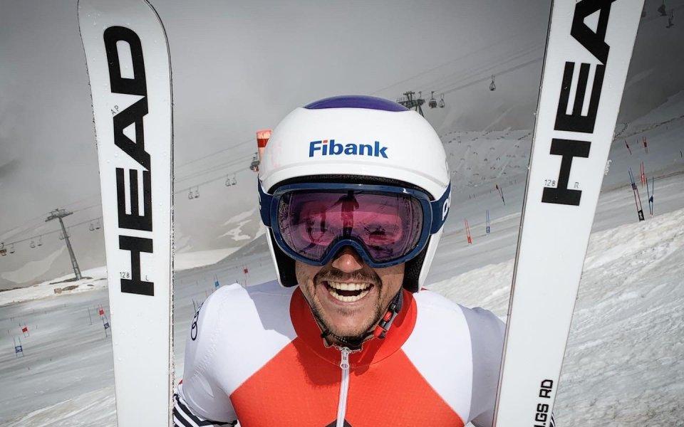 Най-добрият ни алпиец Алберт Попов започна първия си лагер на