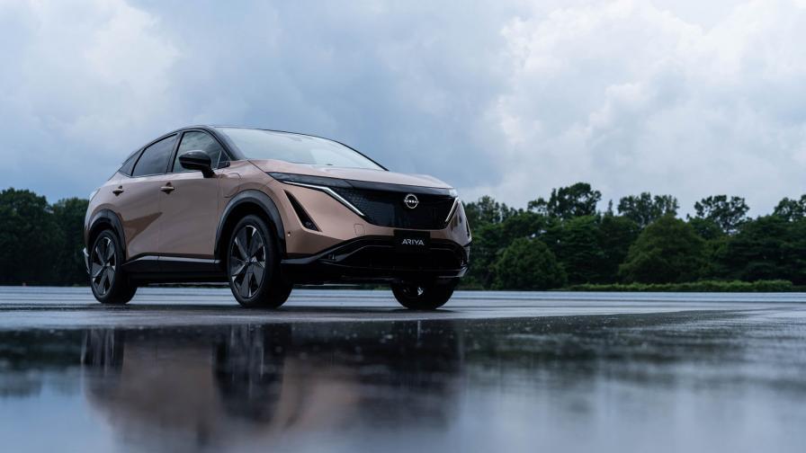 <p>Nissan Ariya: 500 км на ток и по-бързо ускорение от 370Z Nismo</p>