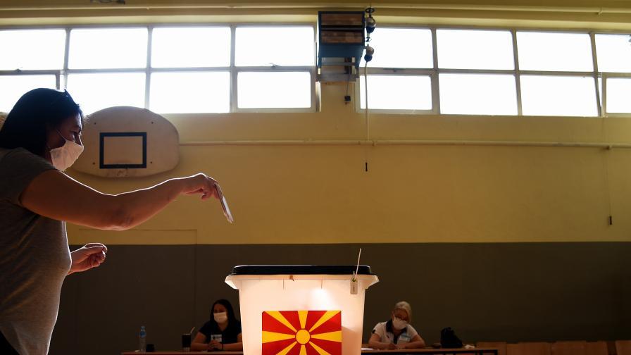 <p>Неофициални окончателни резултати от изборите в Северна Македония&nbsp;</p>