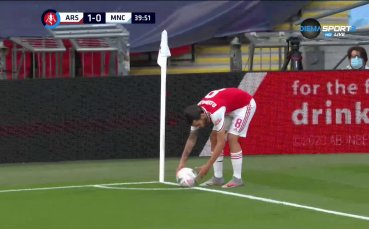 Арсенал - Манчестър Сити 2:0 /репортаж/