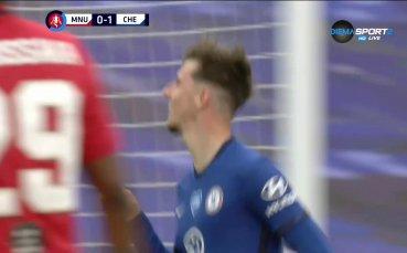 Челси с втори снаряд в Манчестър Юнайтед, Де Хеа сбърка