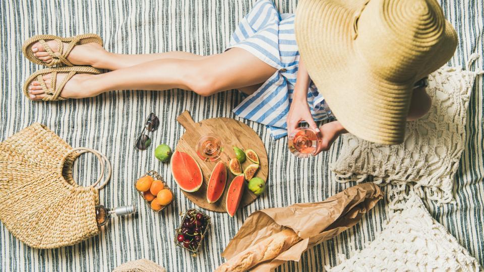 жена лято пикник